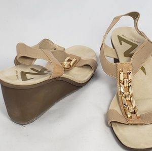 Anne Klein Sport Wedge Sandals